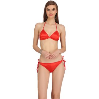 2a7fc8896e4b1 Buy Fashion Comfortz Womens Red Lingerie Set Online - Get 66% Off