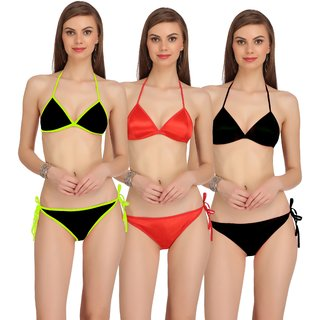 407671abd4fa0 Buy Fashion Comfortz Womens Multicolor Lingerie Set Online - Get 70% Off