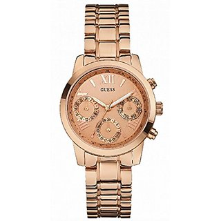 Guess Chronograph Rose Gold Watch for Women W0448L3