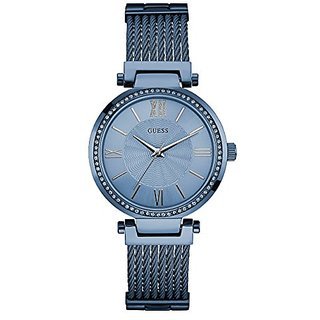 Guess Analogue Blue Dial Womens Watch-W0638L3