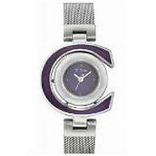 Titan Purple Analog Black Dial Womens Watch - 9816SM04