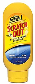 Formula 1 613191-E Scratch Out Heavy Duty Paste (227 g)- (Only for Minor Scratches)