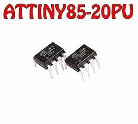 ATTINY85-20PU DIP-8 8-bit Microcontroller with 8K Bytes Programmable Flash