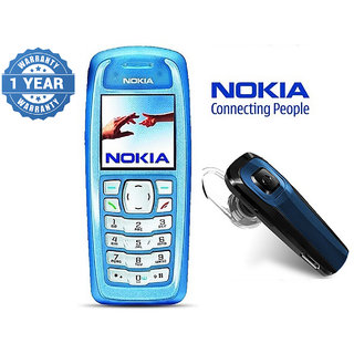 Nokia 3100 / Good Condition/ Certified Pre Owned (1 Year Warranty) with Bluetooth