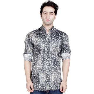 Conway Floral Printed Casual Shirt For Men's