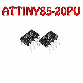 ATTINY85-20PU DIP-8 8-bit Microcontroller with 8K Bytes Programmable Flash