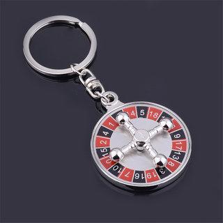 360 Rotating Casino Keychain