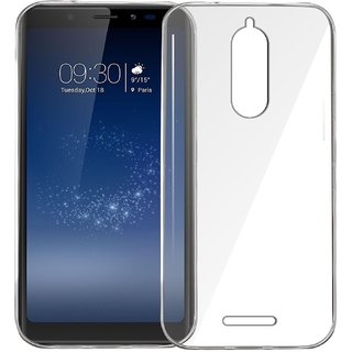 NEW Micromax Canvas Infinity Back Cover Transparent Soft Silicon Case