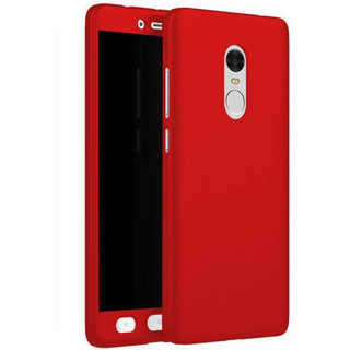 Zipcasi New Front  Back Plain Cover For Redmi Note -3