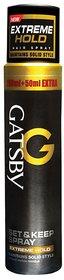 GATSBY Extreme Hold Hair Spray 250 ml