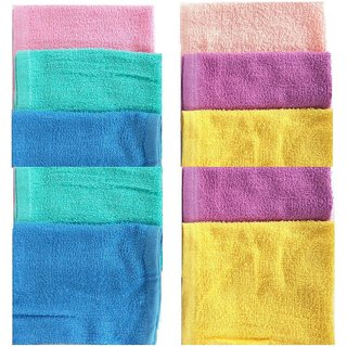 Pack of 5 Daily Use Multi color Handkerchief