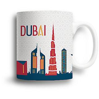 AROUND THE WORLD - DUBAI Souvenir Mug