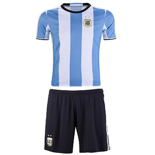 official photos 3d635 486cd Uniq Football Jersey for all Kid's (Argentina Blue)
