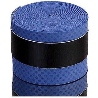 Quinergys Smart Purple - 5 Slip Grip Squash Rackets Fishing Tennis Badminton Rackets Absorb Sweat Absorption Handle Grip Wrap Tape