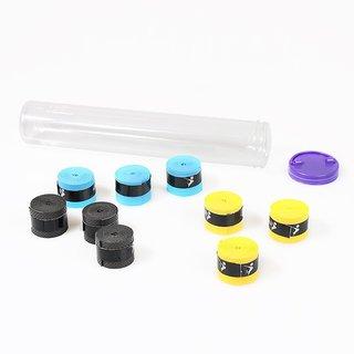 Quinergys Multicolor-33 - Handle Tape Tennis Badminton Squash Anti Slip Racket Over Grip Roll