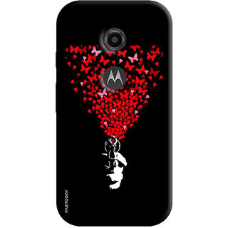 FABTODAY Back Cover for Motorola Moto E2 - Design ID - 0164