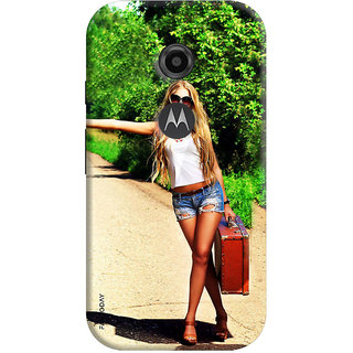 FABTODAY Back Cover for Motorola Moto E2 - Design ID - 0165