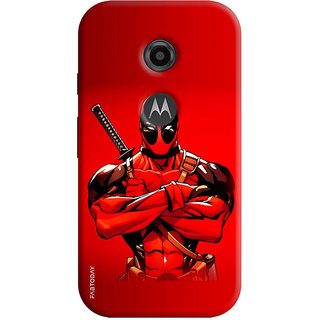 FABTODAY Back Cover for Motorola Moto E2 - Design ID - 0168