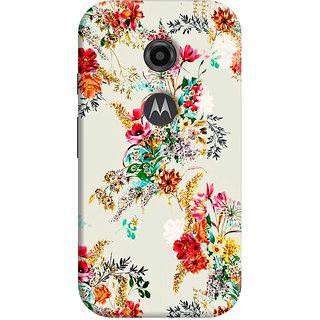FABTODAY Back Cover for Motorola Moto E2 - Design ID - 0245