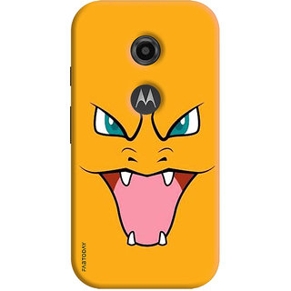 FABTODAY Back Cover for Motorola Moto E2 - Design ID - 0249