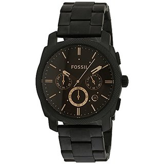 Fossil Machine Chronograph Black Dial Mens Watch - FS4682