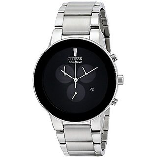Citizen Analog Black Dial Mens Watch-AT2240-51E