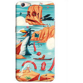 FABTODAY Back Cover for Oppo F3 Plus - Design ID - 0888