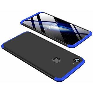 BRAND FUSON VIVO Y83 Front Back Case Cover Original Full Body 3-In-1 Slim Fit Complete 3D 360 Degree Protection Hybrid Hard Bumper (Black Blue) (LAUNCH OFFER)