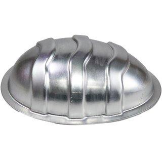 JADES Silver Aluminium Egg Mould Bakeware
