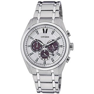 Citizen Eco-Drive Analog White Dial Mens Watch - CA4011-55A
