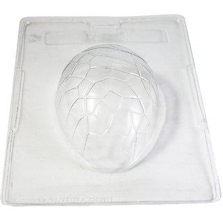 JADES Transparent Plastic Easter Egg Mould Big Bakeware
