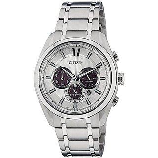 Citizen Chronograph Silver Dial Mens Watch - CA4011-55A
