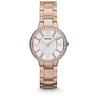 Fossil Analog Silver Dial Womens Watch - ES3284