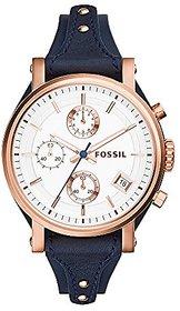 Fossil Original Boyfriend Analog Silver Dial Womens Watch - ES3838