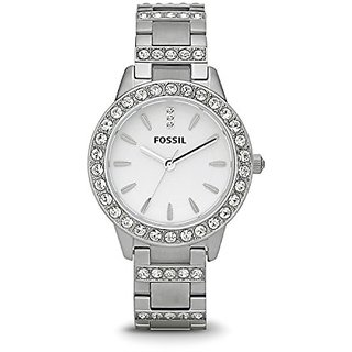 Fossil Jesse Analog White Dial Womens Watch - ES2362