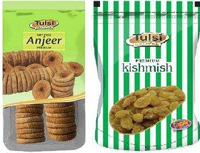 Tulsi Anjeer Green+ Kishmish  1000GM