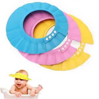 e255de2c757 Adjustable Baby Hat Toddler Kids Shampoo Bathing Shower Cap Wash Hair Shield  Direct Visor Caps For