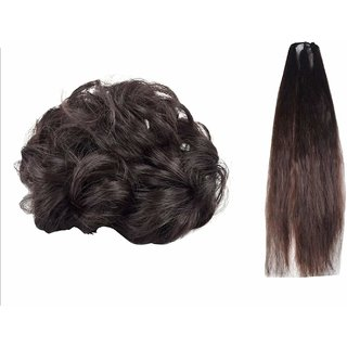 GaDinStylo Stylish Hair Juda  Prandi (Brown) for Women / Girls