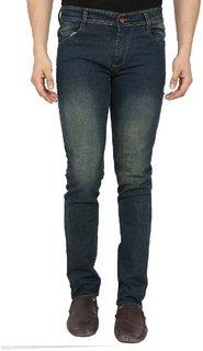 Spain Style Green SlimFit Jeans For men