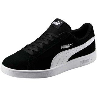 Puma Mens Black Smash v2 Sneakers