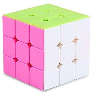 Gran Vela Yj8304 3x3 Stickerless Smooth Speed Magic Puzzle Cube