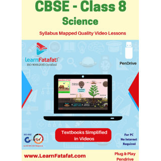 CBSE Class 8 Science Full Video Lectures Pendrive