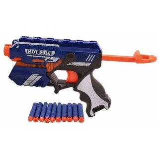 Annie Sharp Soft Shooter gun blue