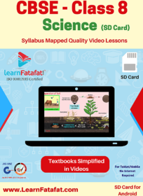 CBSE Class 8 Science Full Video Lectures SD Card