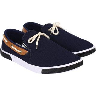 Axter Men's Blue Loafer