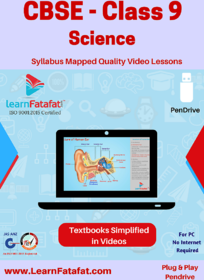 CBSE Class 9 Science Educational Video Course Pendrive