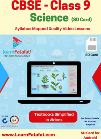 CBSE Class 9 Science Full Video Lessons SD Card