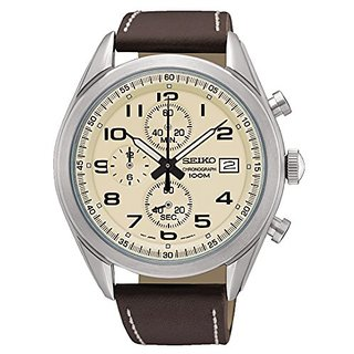 Seiko Analog White Dial Mens Watch-SSB273P1