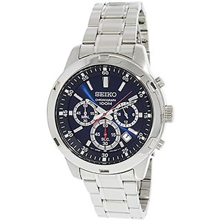 Seiko Analog Blue Dial Mens Watch - SKS603P1