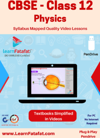 CBSE Class 12 Physics Quality Video Lessons Pendrive LearnFatafat